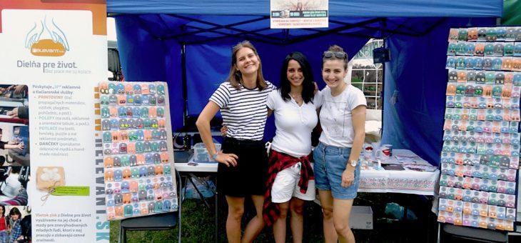 Dielňa pre život na Campfeste 2017